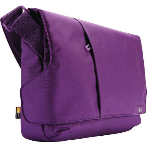 "Case Logic MLM-111GP iPad & 11"" Netbook Messenger Gotham Purple - Peazz.com"