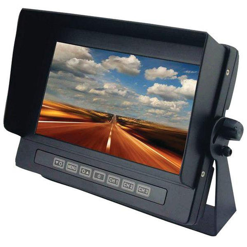 "CrimeStopper Security Products SV-8700 7"" Universal Digital Color LCD Monitor - Peazz.com"