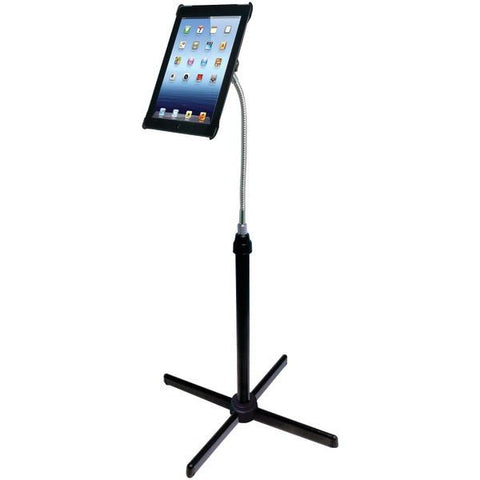 CTA Digital PAD-AFS iPad with Retina display/iPad 3rd Gen/iPad 2 Height-Adjustable Gooseneck Floor Stand - Peazz.com