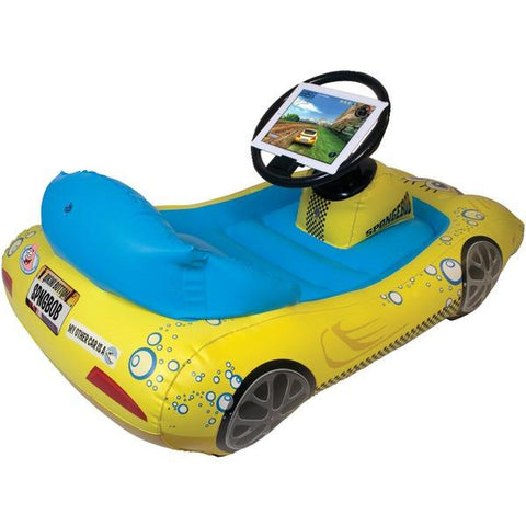 CTA Digital NIC-SIK iPad with Retina display/iPad 3rd Gen/iPad 2 SpongeBob SquarePants Inflatable Sports Car - Peazz.com