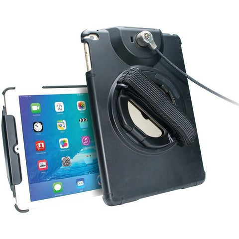 CTA Digital PAD-ACGA iPad Air/iPad Air 2 Antitheft Case with Built-in Grip Stand - Peazz.com