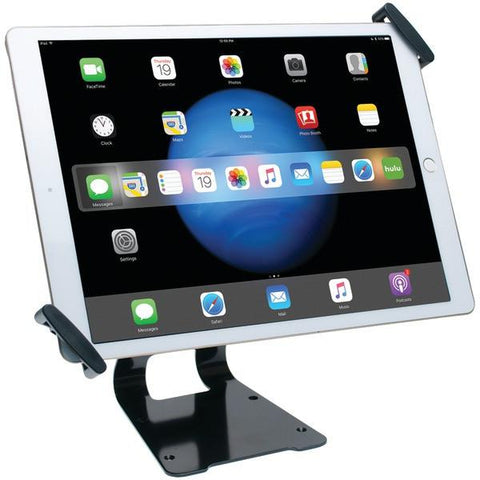 CTA Digital PAD-ATGSL iPad Pro/Tablet Adjustable Antitheft Security Grip Stand (Silver) - Peazz.com
