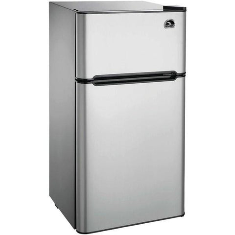 Igloo FR459 4.5 Cubic-ft 2-Door Stainless Steel Refrigerator - Peazz.com