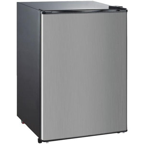Igloo FR465I-E 4.6 Cubic-ft Bar Fridge with Stainless Steel Door - Peazz.com