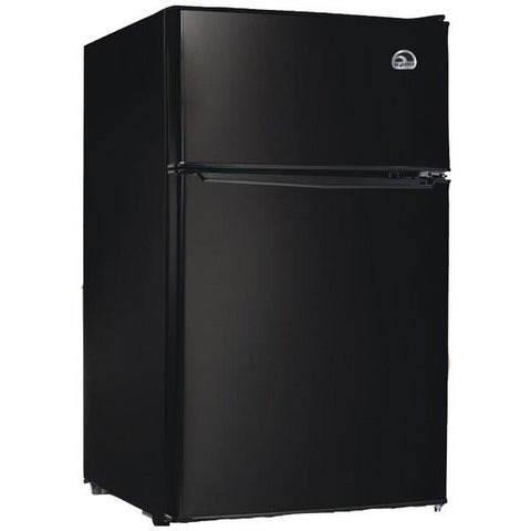 Igloo FR832I-E-BLACK 3.2 Cubic-ft Refrigerator (Black) - Peazz.com