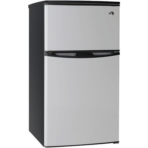Igloo FR834 3.2 Cubic-ft Stainless Steel Refrigerator with 2 Doors - Peazz.com