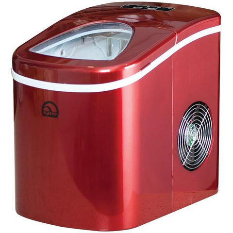 Igloo ICE108-RED Compact Ice Maker (Red) - Peazz.com