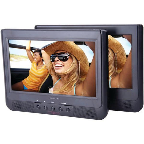 "Proscan PDVD1034 10.1"" Dual-Screen Portable DVD Player - Peazz.com"
