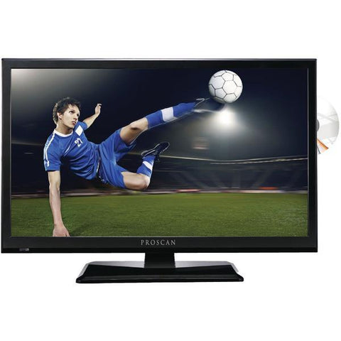 "Proscan PLEDV2488A 24"" 1080p D-LED HDTV/DVD Combination - Peazz.com"