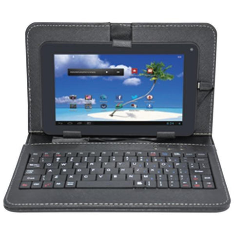 "Proscan PLT7100G-CK 7"" Android 4.4 Dual-Core Tablet with Case & Keyboard - Peazz.com"