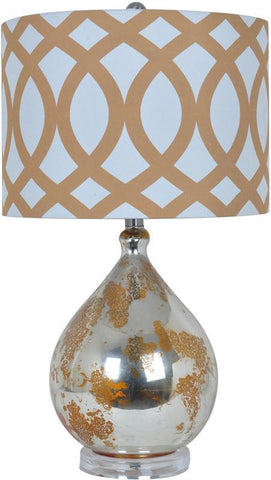 Crestview Collection CVABS804 Avenue Table Lamp 14 X 14 X 10 - PeazzLighting