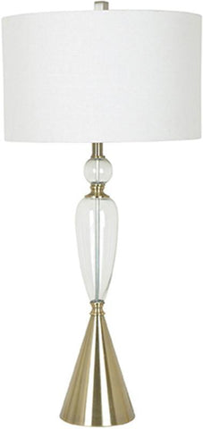 Crestview Collection CVABS977 Gallery Table Lamp 16 X 16 X 10.5 - PeazzLighting
