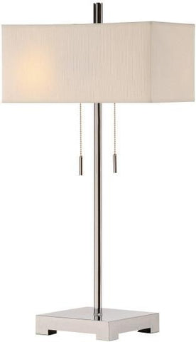 Bayden Hill CVACR149 Orlo Twin Light Table Lamp - PeazzLighting