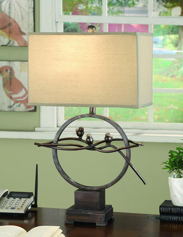 Crestview Collection CVAER070 Song Bird Table Lamp 10/17 X 10/17 X 11 - PeazzLighting