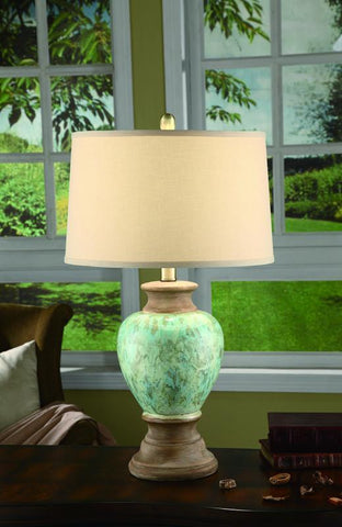 Crestview Collection CVAP1436 Cvap1436: Leona Table Lamp 15 X 16.5 X 10 - PeazzLighting