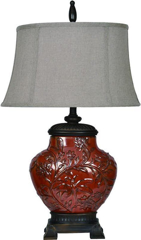 Crestview Collection CVAP1491 Shelby Table Lamp 11/15 X 12/19 X 11 - PeazzLighting