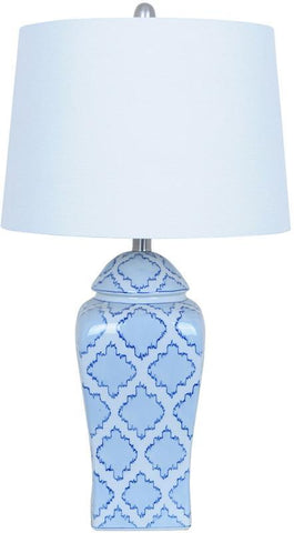 Crestview Collection CVAP1805 Gringe Jar Table Lamp 13 X 15 X 10 - PeazzLighting
