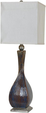 Crestview Collection CVAP1823 Allegri Table Lamp 12/12 X 12/12 X 13 - PeazzLighting