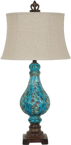 Crestview Collection CVAP1836 Shelby Table Lamp 14 X 17 X 11 - PeazzLighting