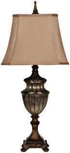 Crestview Collection CVAUP324 Andra Table Lamp 10/10 X 15/15 X 11.5 - PeazzLighting