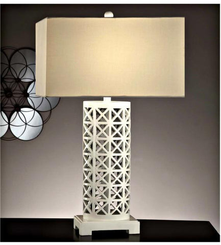 Crestview Collection CVAUP521 Starlight Table Lamp 11/18 X 11/18 X 10 - PeazzLighting