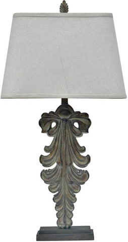Crestview Collection CVAUP553 Antique Pendant Table Lamp 9/14 X 11/18 X 12 - PeazzLighting