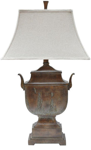 Bayden Hill CVAUP603 Seville Urn Table Lamp 12/8 X 19.5/13 X 12 - PeazzLighting
