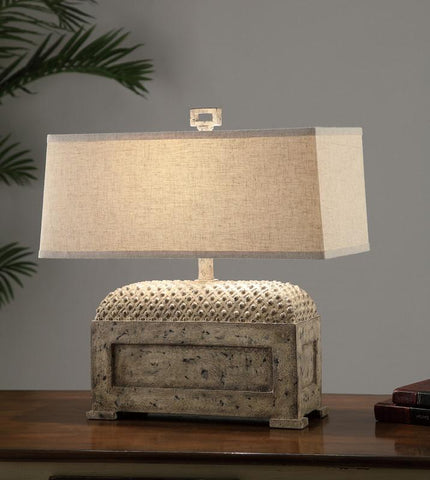 "Crestview Collection CVAUP694 Aberdeen Table Lamp 21.5""Ht 9/19 X 9/20 X 8.5 - PeazzLighting"