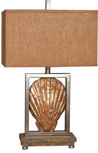 "Crestview Collection CVAUP815 Sun Coast Table Lamp 30""Ht 11/18 X 11/18 X 11 - PeazzLighting"