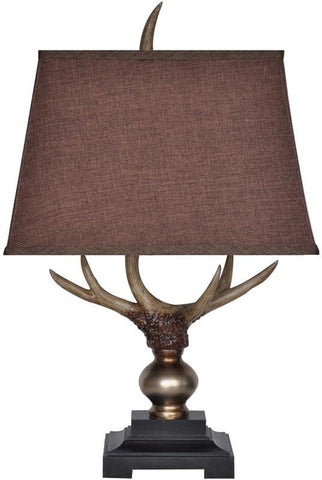 Crestview Collection CVAUP924 Monarch Antler Table Lamp 9/13 X 11/16 X 11 - PeazzLighting