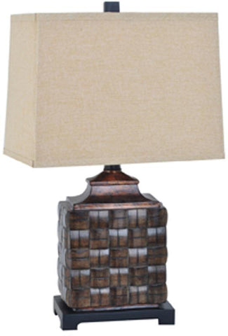 Crestview Collection CVAUP954 Weave Table Lamp 9/14 X 10/15 X 11 - PeazzLighting