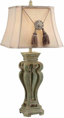 Crestview Collection CVAVP091 Brixtow Table Lamp 12/12 X 17/17 X 12 - PeazzLighting