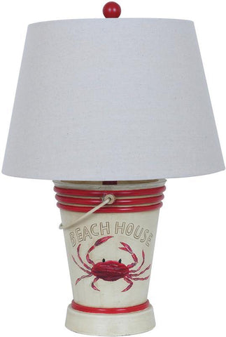Crestview Collection CVAVP108 Crab Table Lamp 11 X 15 X 10 - PeazzLighting