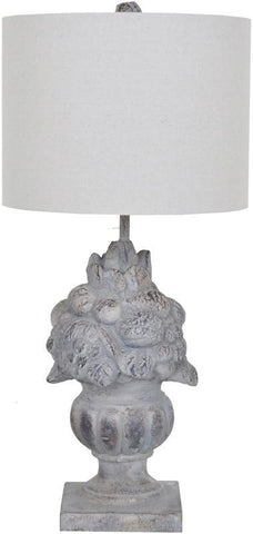 Crestview Collection CVAVP189 Fruit Urn Table Lamp 12 X 12 X 9 - PeazzLighting