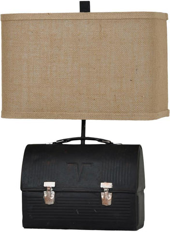 Crestview Collection CVAVP263 Lunch Box Table Lamp 14/8 X 14/8 X 9 - PeazzLighting