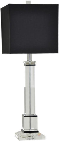 Crestview Collection CVAZBS005 City Scape Table Lamp 10/10 X 10/10 X 9.5 - PeazzLighting
