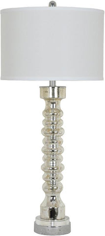 Crestview Collection CVAZBS1002 Spindle Table Lamp 15 X 15 X 10 - PeazzLighting