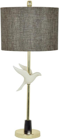 Crestview Collection CVAZVP002 In Fight Table Lamp 14 X 14 X 10 - PeazzLighting