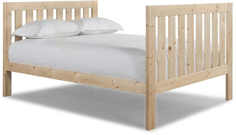 Canwood 2502-5 Lakecrest Double Bed-Natural (Bundle) - Peazz.com