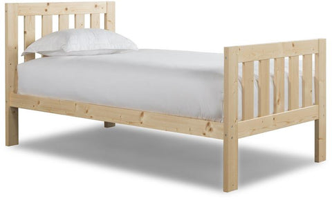 Canwood 2501-5 Lakecrest Twin Bed-Natural (Bundle) - Peazz.com
