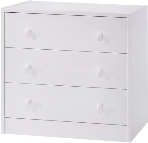 Canwood 2232-1 Whistler Junior 3 Drawer Chest-White - Peazz.com
