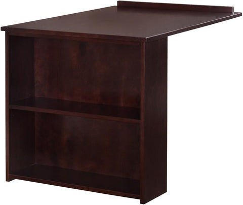 Canwood 2235-9 Whistler Junior Slide Out Desk-Espresso - Peazz.com