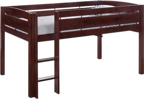 Canwood 2131-4 Whistler Junior Loft Bed-Cherry - Peazz.com