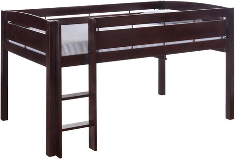 Canwood 2131-9 Whistler Junior Loft Bed-Espresso - Peazz.com
