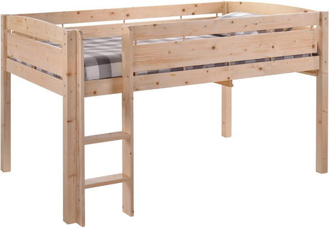 Canwood 2131-5 Whistler Junior Loft Bed-Natural - Peazz.com