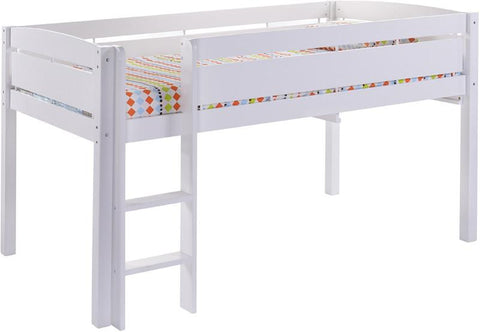 Canwood 2131-1 Whistler Junior Loft Bed-White - Peazz.com