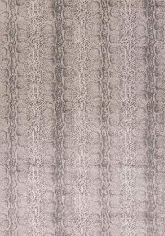 "KAS Rugs Chandler 4908 Taupe Snakeskin Machine-Woven 100% Polypropelene 3'3"" x 4'11"""
