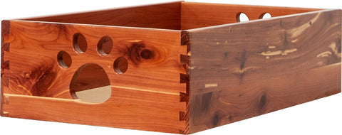Toy Box by Sara are Handcrafted by Amish Craftsman - Small - Cedar
