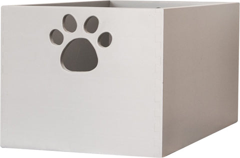 Toy Box by Sara are Handcrafted by Amish Craftsman - Large - Pumice Grey