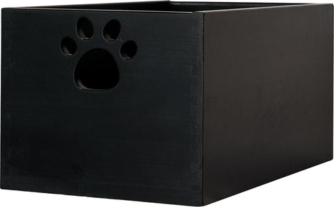 Toy Box by Sara are Handcrafted by Amish Craftsman - Large - Black